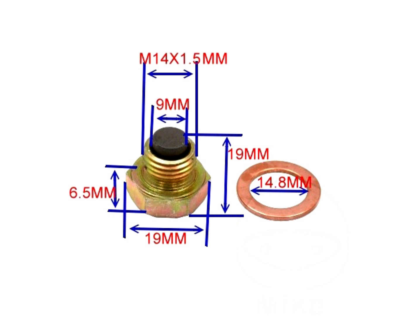 magnetisch Ölablaßschraube Honda VFR 750 *NEU*